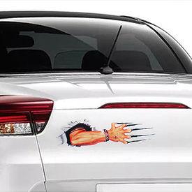Speedwav Car Boot/Dicky 3D Sticker-Nail Scratch