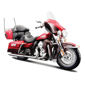 Maisto 1:12 Scale Die Cast Motorcycles Harley Davidson FLHTK Electra Glide Ultra Limited 2013-Red