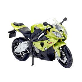 Maisto 1:18 Scale Die Cast Motorcycles BMW S1000RR-White Green