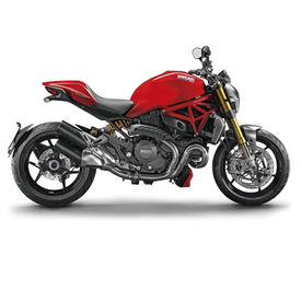 Maisto 1:18 Scale Die Cast Motorcycles Ducati Monster 1200S-Red and Black