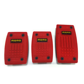 Momo Car Pedals Racing Style Set Of 3-Red