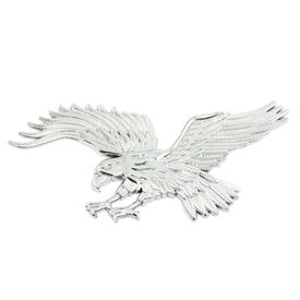 Speedwav Stylish Sticker 3D Decal Badge Eagle-Chrome