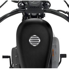 Speedwav JTP Motorsports Stripped Fuel Cap for Harley Davidson