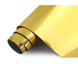 Speedwav 100x30cm Car Interior Styling Wrap Sheet-Gold