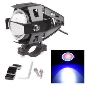 Accedre Cree U7 Projector LED Car Bike Aux Light-Blue Angel