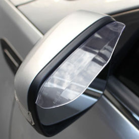 Speedwav Car Side Mirror Rain Guard Visors for All Cars Set of 2-Clear
