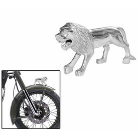 Speedwav Bike Steel Lion Front Fender Decorative for Royal Enfield