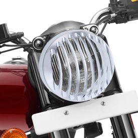 Speedwav Headlight Cover Grill Chrome for Royal Enfield