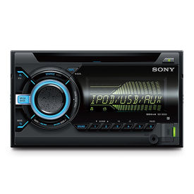 Sony WX-900BT Double DIN Car Stereo CD/USB/AUX/Bluetooth