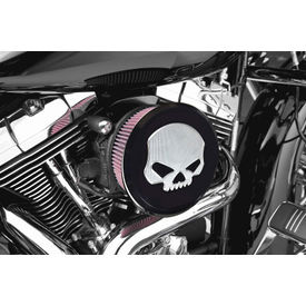 Skull Design Air Cleaner Intake Filter Systemfor Harley Davidson Sportster/Softail/Dyna-Black