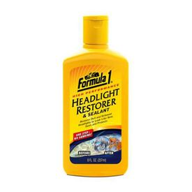Formula 1 Car/Bike Headlight Restorer and Sealant