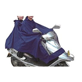 Speedwav Scooter Raincoat for Driver and Pillion Rider - Blue