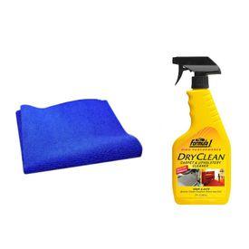 Formula 1 Car Dry Cleaning Kit Carpet/Upholstery+Speedwav Microfiber Cloth
