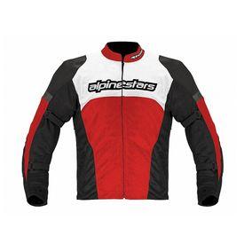 Alpinestars Fending Air Bike Riding Jackets-Black, Red & White Size:40