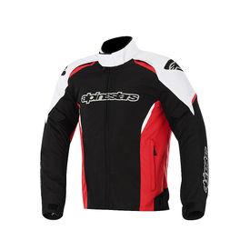 Alpinestars Alux Waterproof Bike Riding Jackets-Black, White & Red