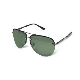 Jazzmyride 3357SM Aviator Polarized Sunglasses-Smoke