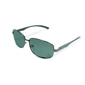 Jazzmyride 3354SM Rectangle Rimed Polarized Sunglasses-Smoke