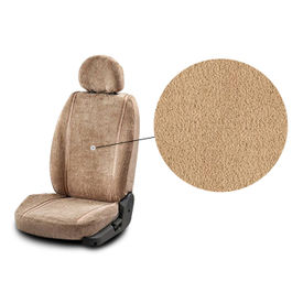 Accedre Front Seats Super Cool Beige Towel Seat Covers Set of 2