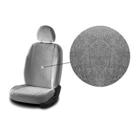 Accedre Front Seats Super Cool Grey Towel Seat Covers Set of 2