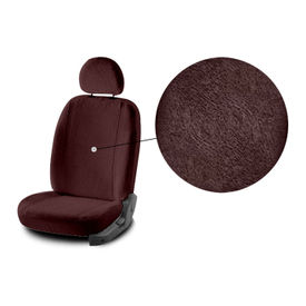 Accedre Front Seats Super Cool Coffee Towel Seat Covers Set of 2