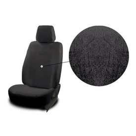 Accedre Front Seats Super Cool Black Towel Seat Covers Set of 2