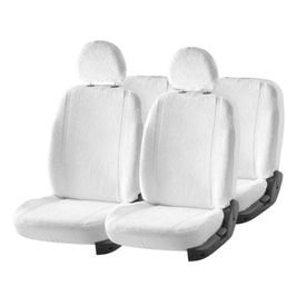 Accedre Super Cool White Towel Seat Covers