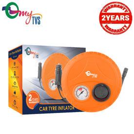 myTVS Car Tyre Inflator 2 Yr Warranty