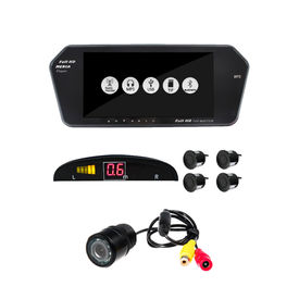 Accedre 7 Inch Screen+ Reversa Parking Sensor Black+ 8 LED Night Vision Reverse Parking Camera