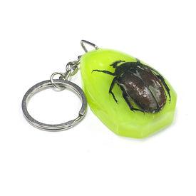 Accedre Luminative Prank Orange Unicorn Bug Key Chain