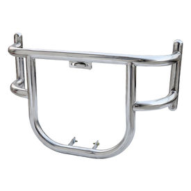 Accedre Air-Fly 2 Bends Bike Safety Leg Crash Guard Chrome for Royal Enfield