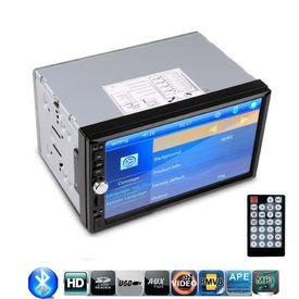 Silver Car 7018B Double Din HD Touch Screen USB/MP5 Player/Bluetooth