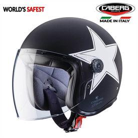 Caberg Freeride Matt Black/ White Open Face Helmet