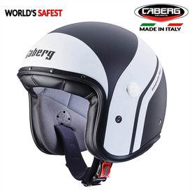 Caberg Freeride Mistral Matt Black/White Open Face Helmet