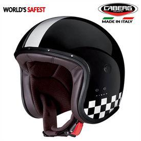 Caberg Freeride Indy Black/White Open Face Helmet