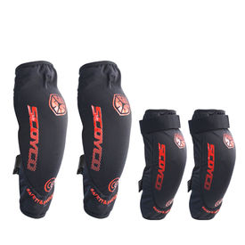 Scoyco K18H18 Bike Riding Knee and Elbow Guard Set of 4-Black