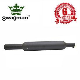 Swagman Basic-Bassy Black Exhaust for Royal Enfield