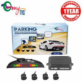 myTVS TPS-38 Black Reverse Car Parking Sensor LED Display(1 Yr Warranty)-For All Cars