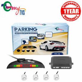 myTVS TPS-38 White Reverse Car Parking Sensor LED Display(1 Yr Warranty)-For All Cars