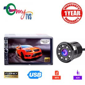 myTVS TAV-40 Car Touch Screen Stereo Player with 8 LED Night Vision Parking Camera