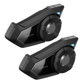 Sena 30k-01D Dual Pack Motorcycle Bluetooth Communication System with Mesh Intercom