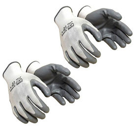 Accedre Summer Bike/Scooter Riding / Driving Gloves-White(set of 2)