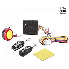 Accedre Bike Motorcycle Central Locking Anti Hijacking Alarm System