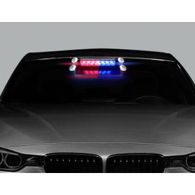 Speedwav Police Style Car LED Flashing Lights (Red and Blue) for all cars