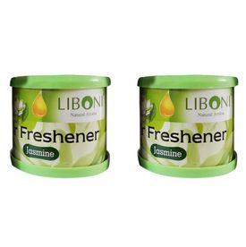 Liboni Natural Car Air Freshener/Perfume Set Of 2-Jasmine