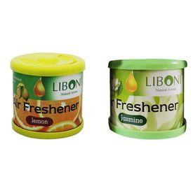 Liboni Natural Car Air Freshener/Perfume Set Of 2-Lemon +Jasmine