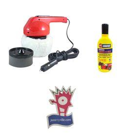 Coido 6003 Car Polisher and Shining Machine + Shampoo 100ml+Jazzy Perfume