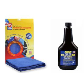 ABRO Diesel Fuel Anti-Gel Treatment DA-650 354 ml+Microfiber Cloth