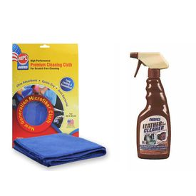ABRO Leather & Vinyl Cleaner LC-472 472 ml+Microfiber Cloth