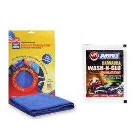 ABRO Car Wash & Glow CW-927 POUCH+Microfiber Cloth
