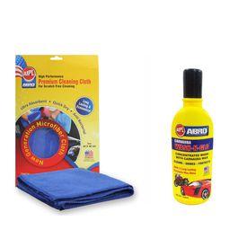 ABRO Wash-n-Glow Shampoo (100 ml)+Microfiber Cloth(CW-928-100ML+CT-210)